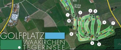 webdesign mitschwarzenberger -  Golfplatz Waakirchen Tegernsee